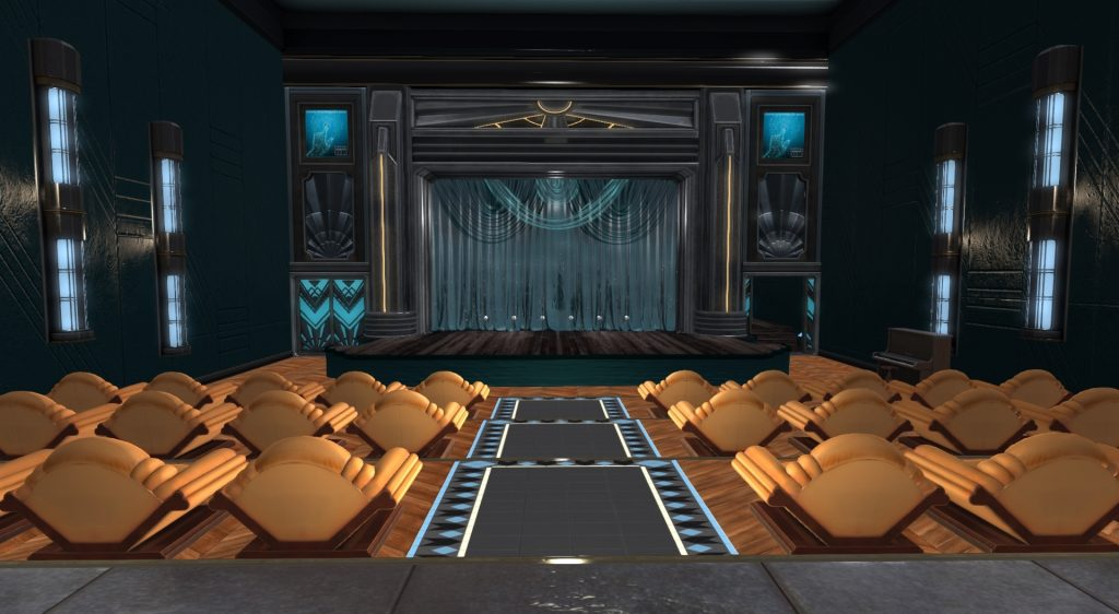 VCR Theatre - View of the stage