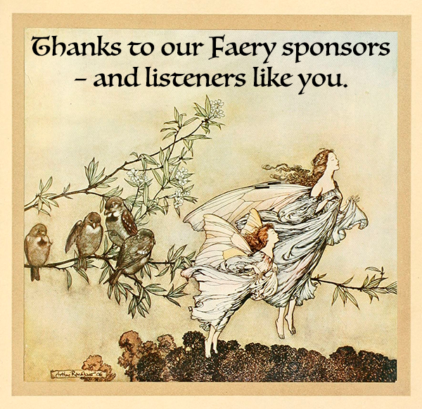Thanks to our Faery supporters